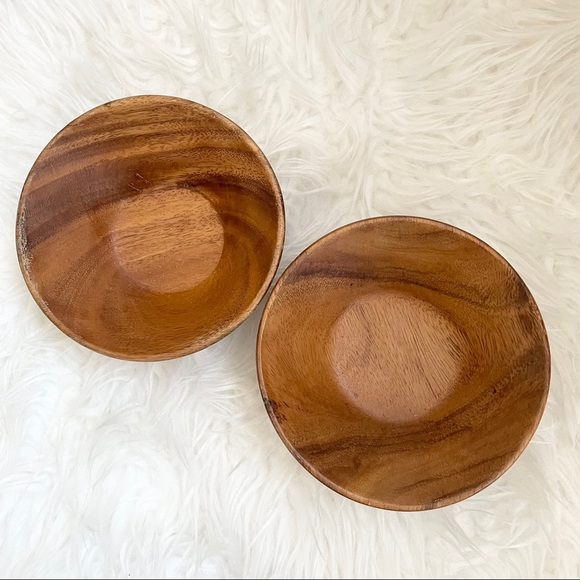 Monkey pod made in Philippines bowls wooden